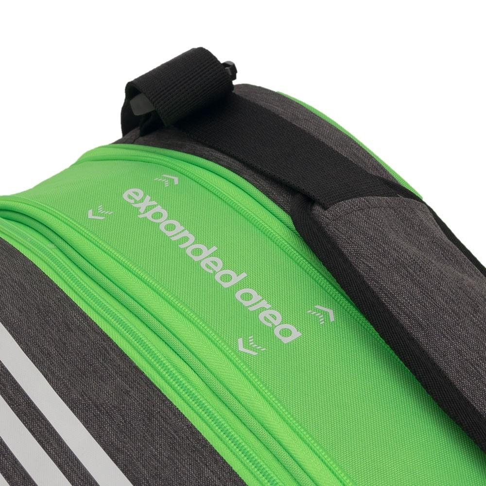 Raqueteira de Beach Tennis Adidas Supernova Preto e Verde