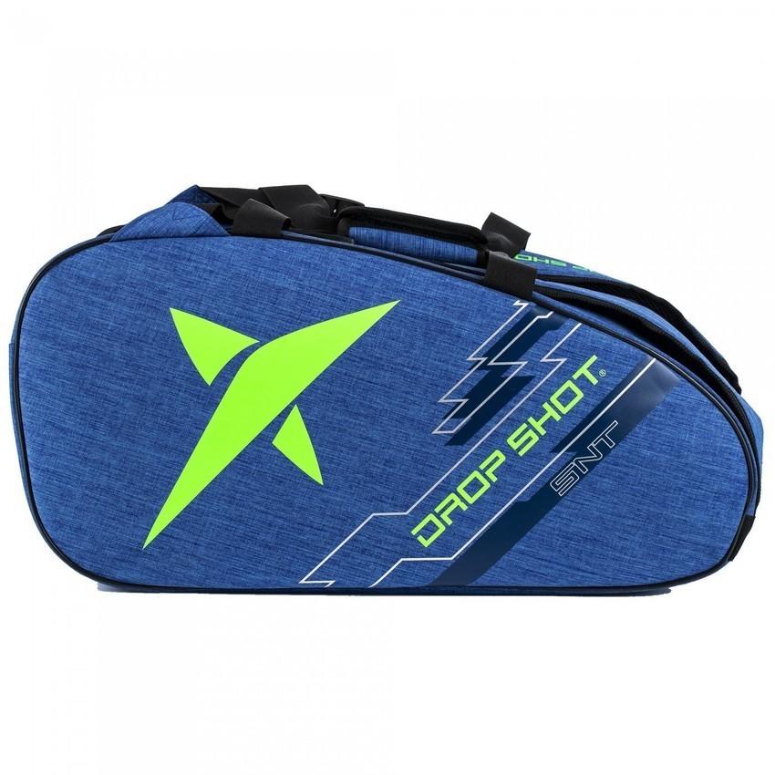 Raqueteira de Beach Tennis Drop Shot Essential Azul e Verde