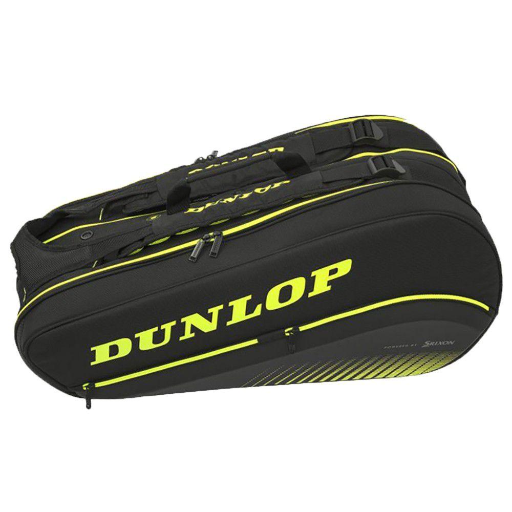 Raqueteira Dunlop Sx Performance X8 Preta e Verde
