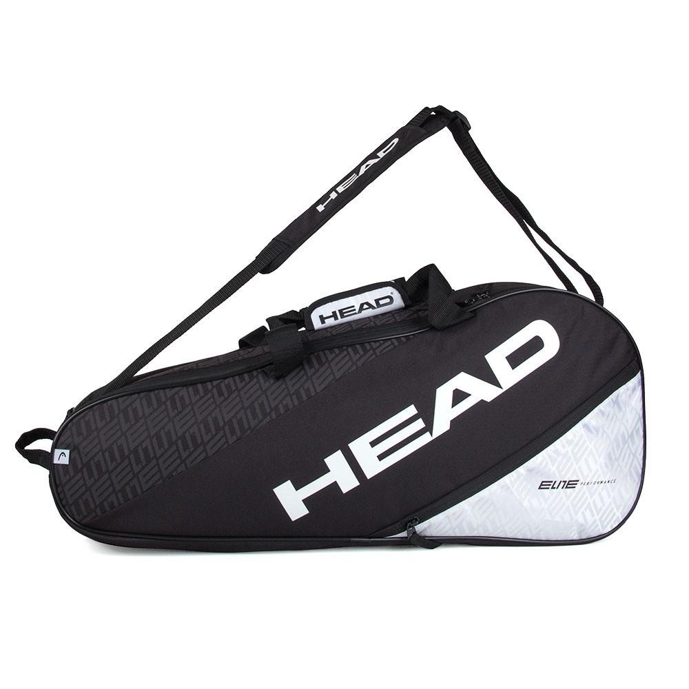 Raqueteira Head Elite Combi 6R Preta e Branca