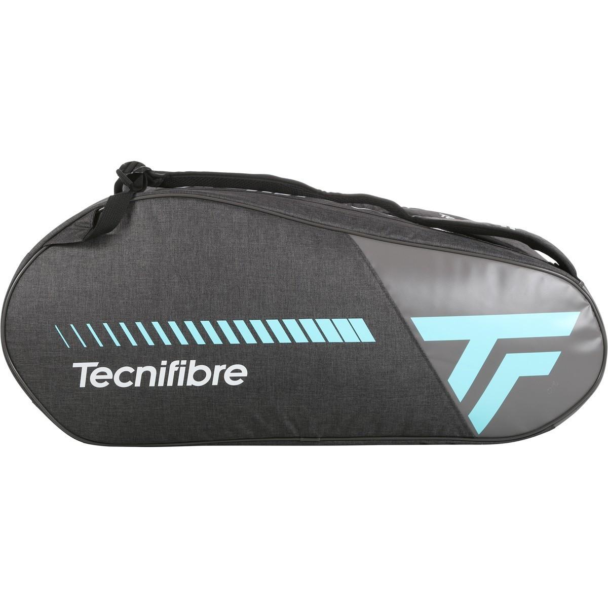 Raqueteira Tecnifibre Endurance 6R Cinza e Turquesa - Feminino