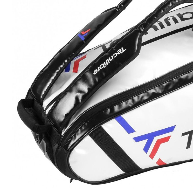 Raqueteira Tecnifibre Tour Endurance 12R Branca e Preta