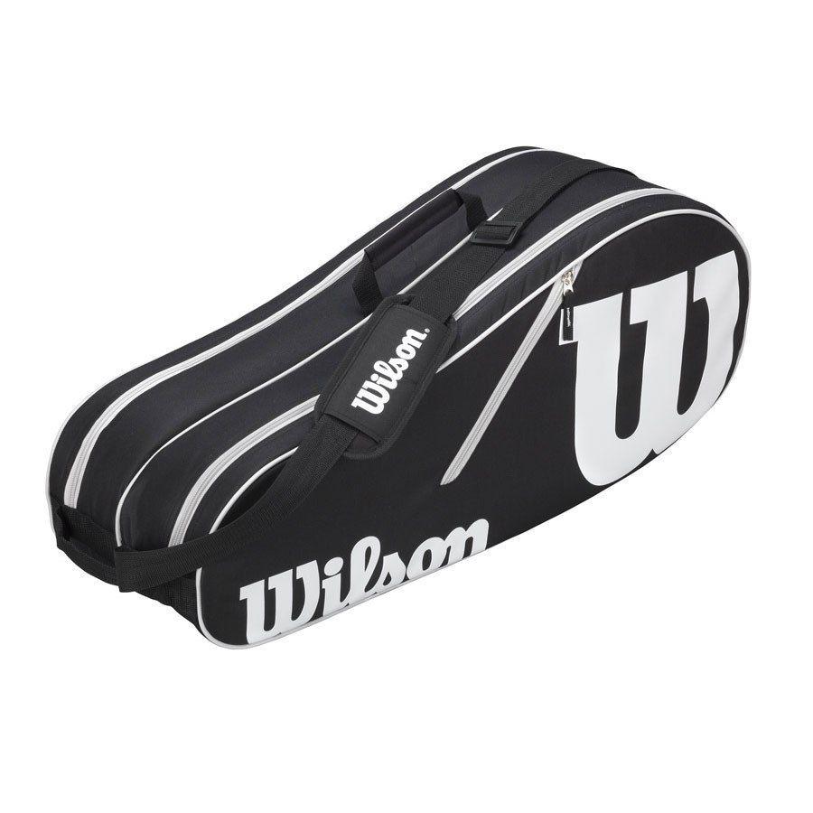 Raqueteira Wilson ESP Advantage II X6 Preta