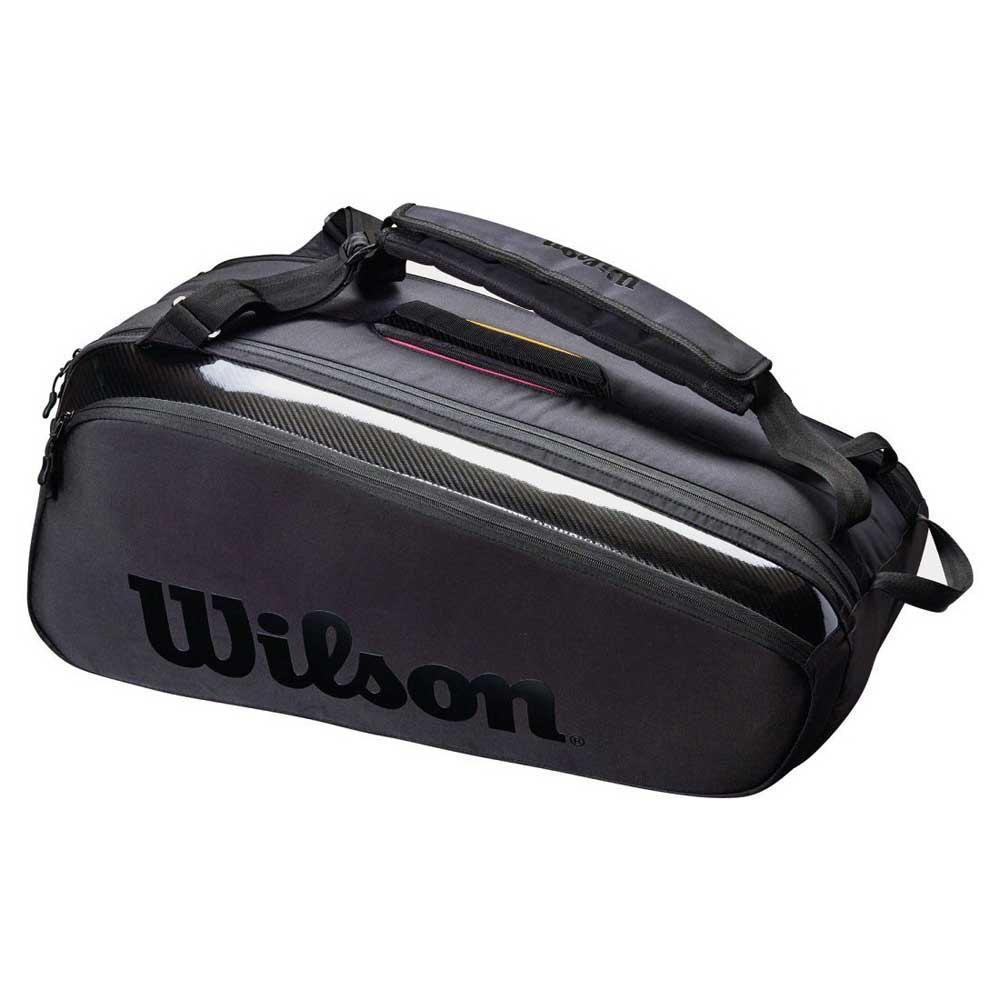 Raqueteira Wilson ESP Super Tour X9 Pro Staff Preta