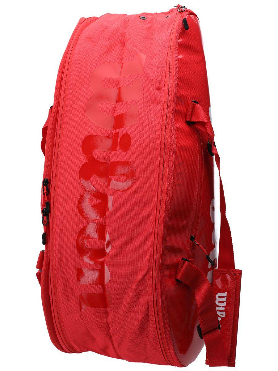 Raqueteira Wilson ESP Super Tour X9 Vermelha