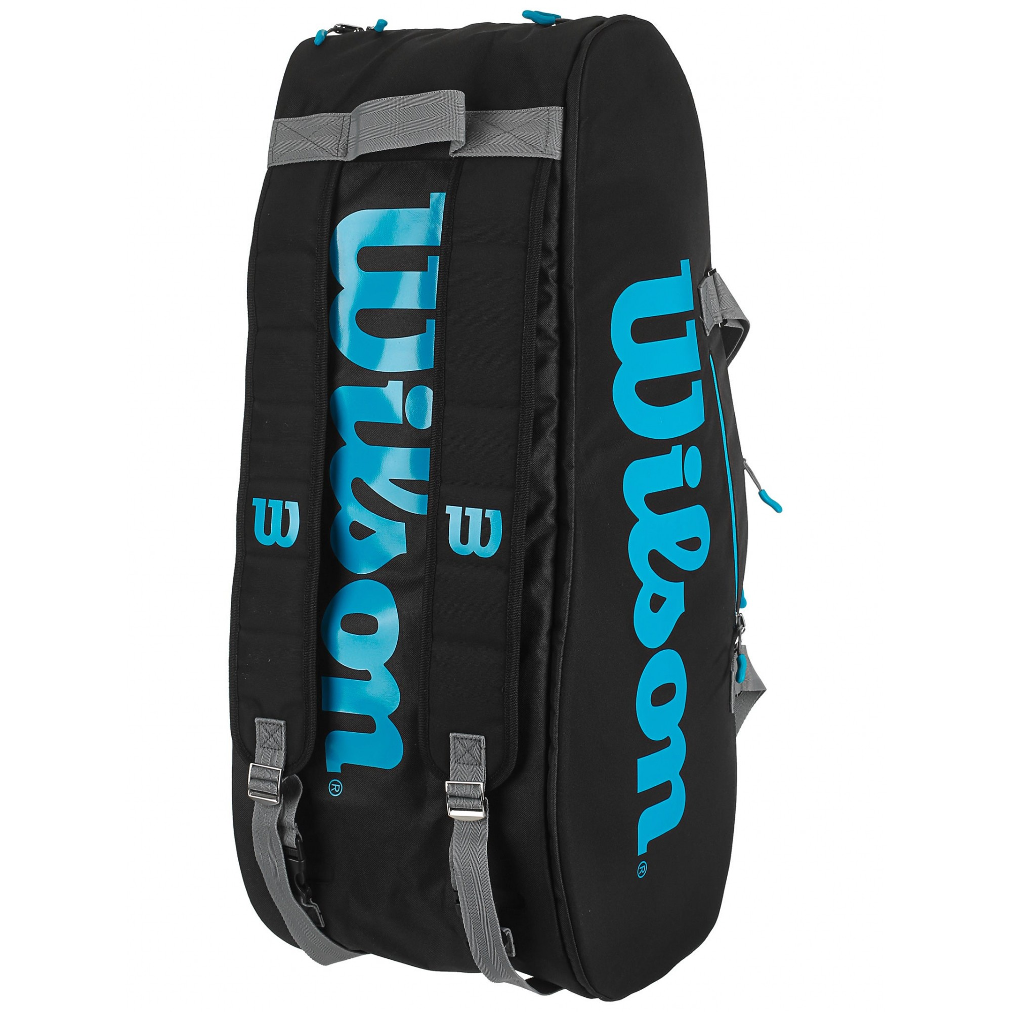 Raqueteira Wilson ESP Ultra X9 Preta e Azul