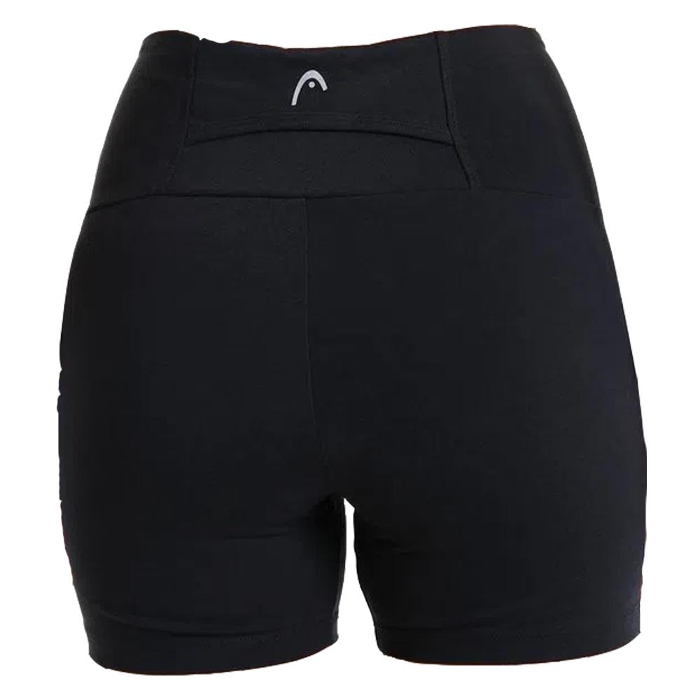Shorts Head Com Recorte Preto - Feminino