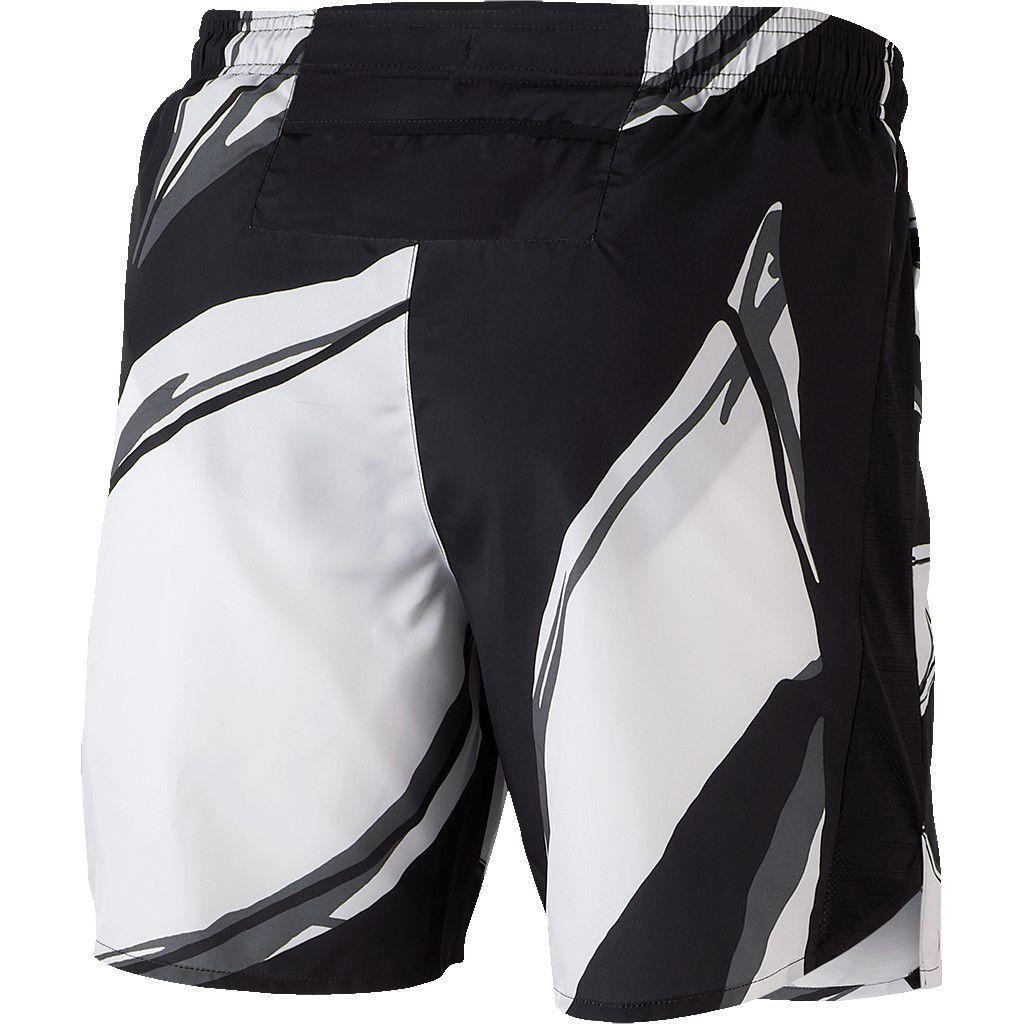 Shorts Nike Challenger 7in Fiesta FL Preto e Branco