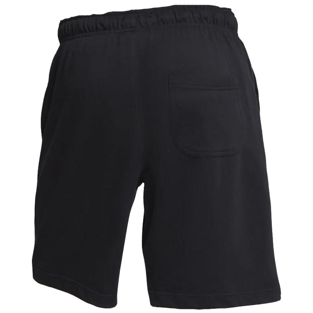 Shorts Nike Club JSY Preto e Branco - Masculino