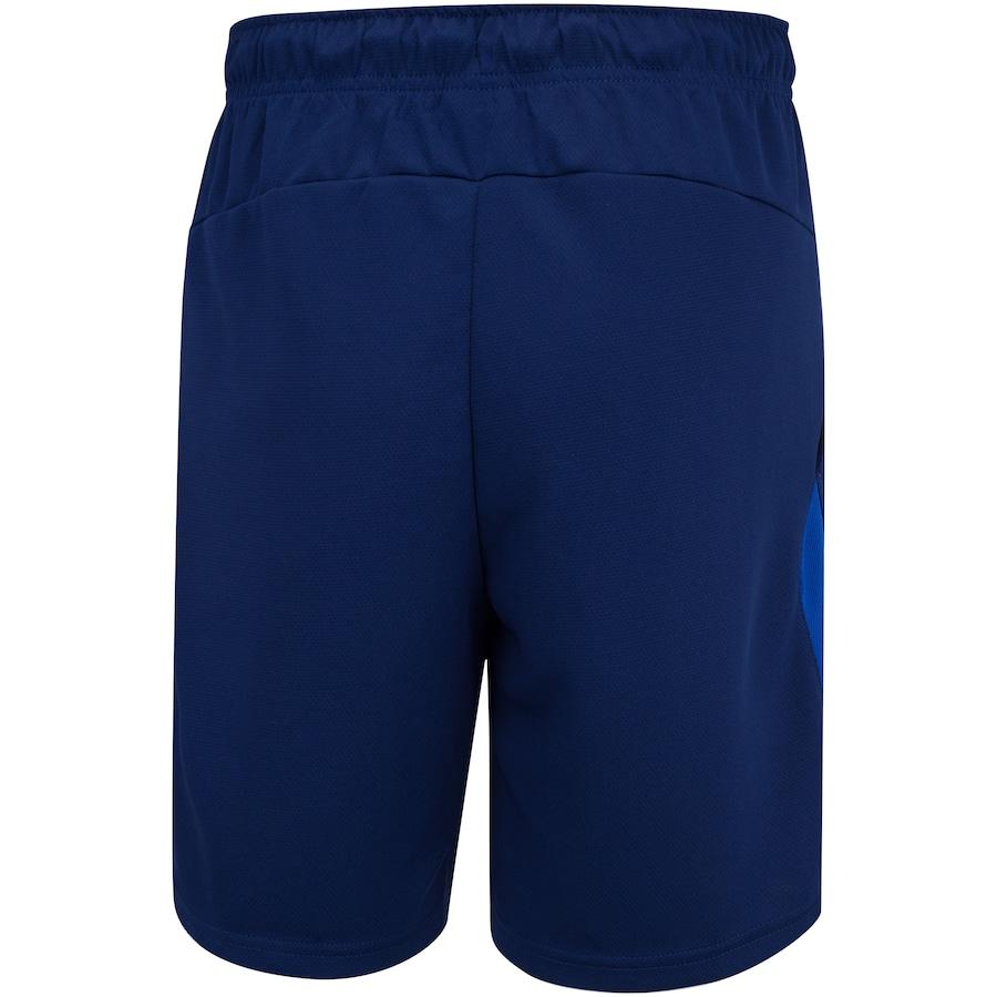 Shorts Nike Dry Fit 5.0 7in Marinho e Branco - Masculino