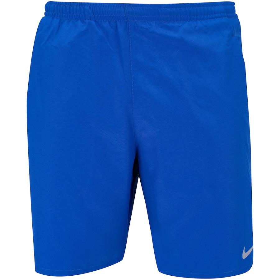 Shorts Nike Run 7in BF Azul e Cinza - Masculino