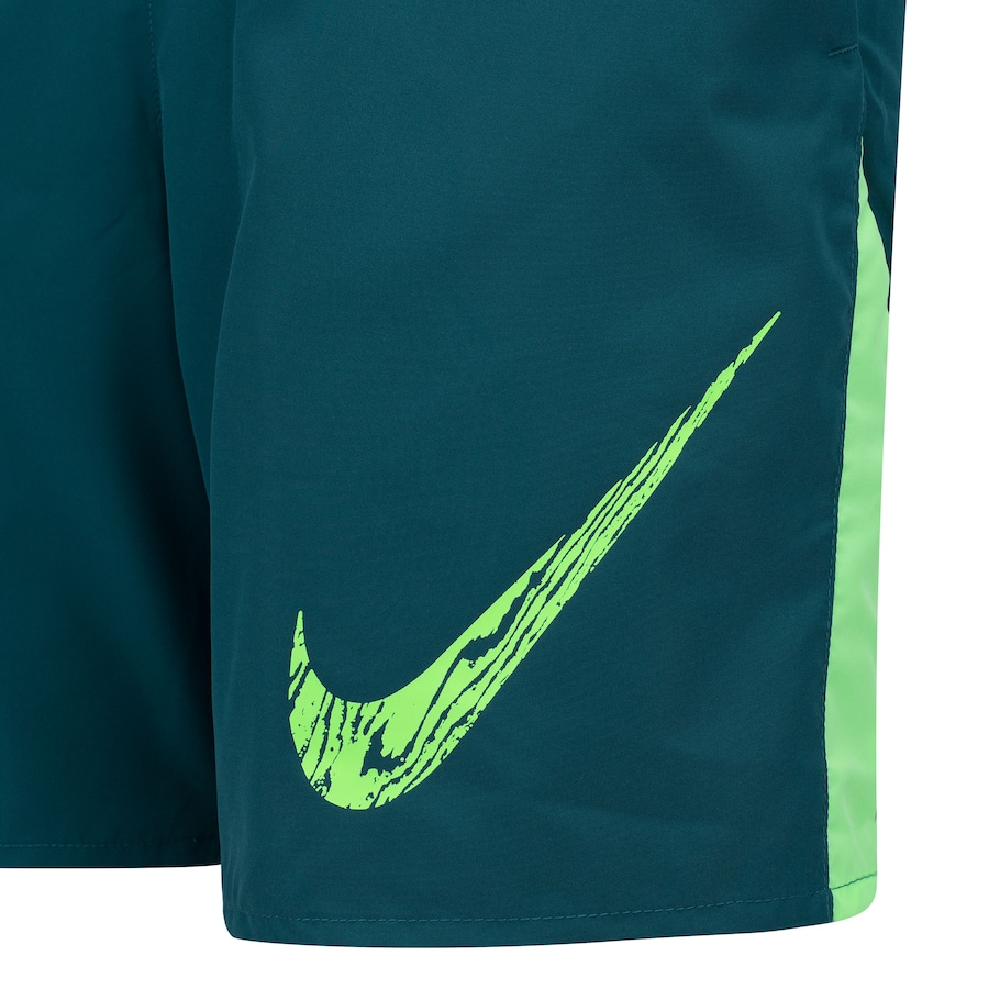 Shorts Nike Run 7in BF WR GX Verde e Verde Claro - Masculino