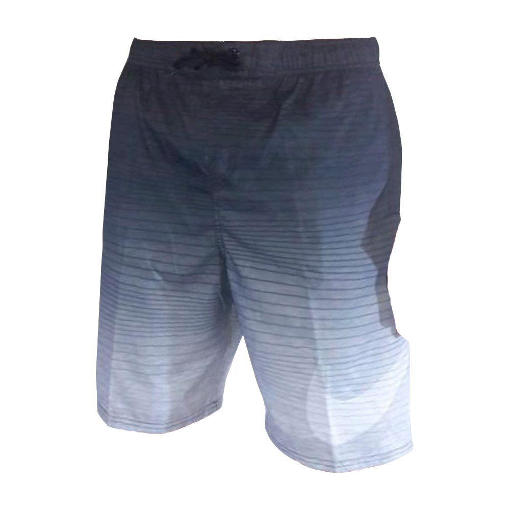 Shorts Nike Swim Volley 9 Degrade Preto e Branco