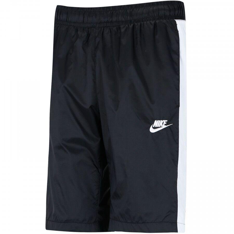 Shorts Nike Woven Track Preto e Branco
