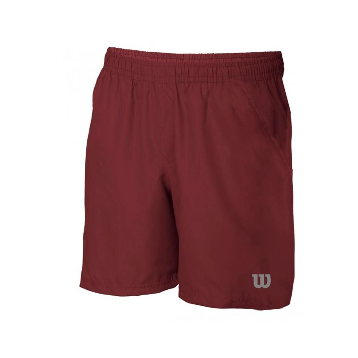 Shorts Wilson Core Bordo