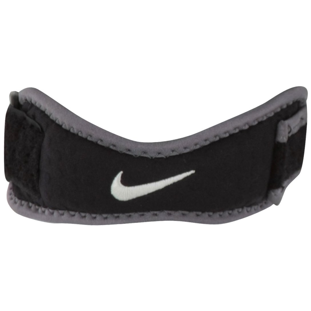 Suporte Patelar Nike Preto e Cinza