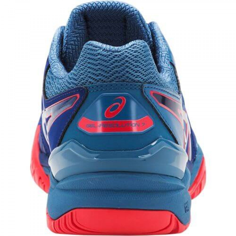 ... Tênis Asics Gel Resolution 7 Azul e Vermelho - Spinway Tennis e Beach  Tennis ... 52777d6079920