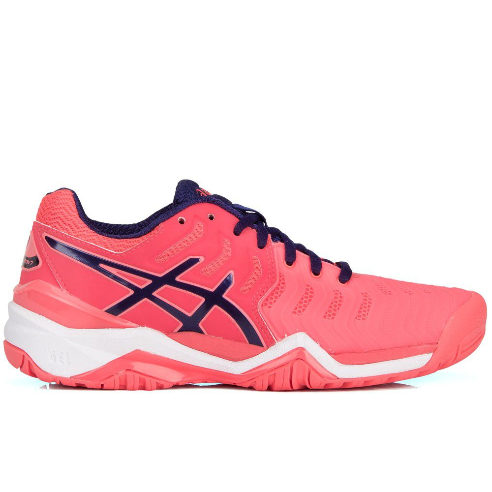 Tênis Asics Gel Resolution 7 Pink e Marinho