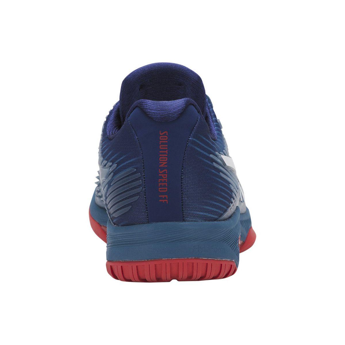 824f43b6835 ... Tênis Asics Solution Speed FF Azul Branco e Vermelho - Spinway Tennis e Beach  Tennis