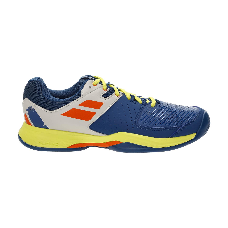 Tênis Babolat Pulsion All Court Azul e Amarelo - Masculino