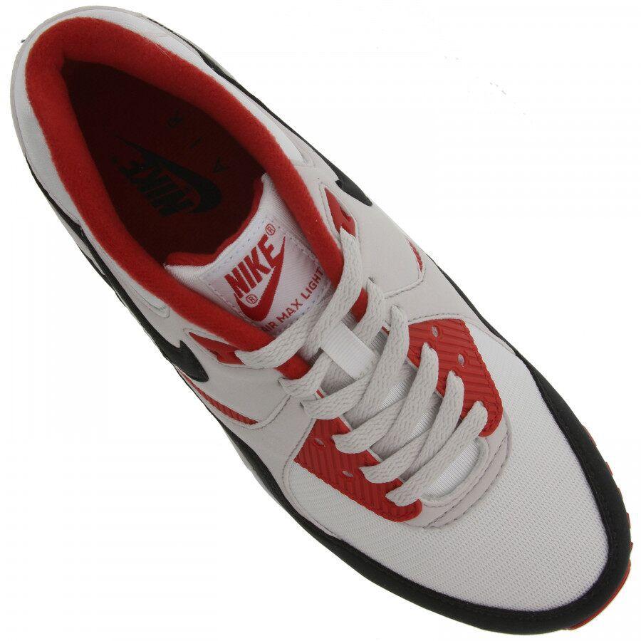 Tenis Nike Air Max Light Branco e Vermelho