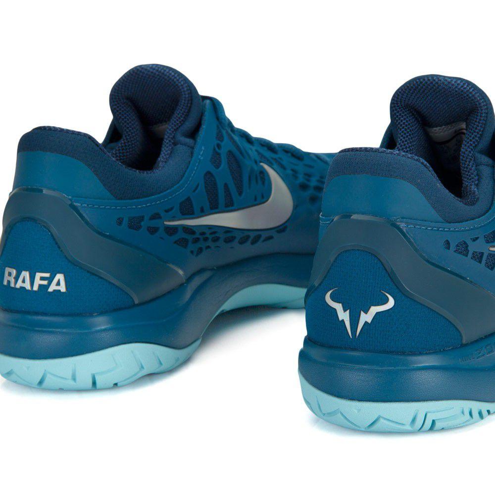 30c2e978e0 ... Tênis Nike Air Zoom Cage 3 HC Rafael Nadal Azul - Spinway Tennis e  Beach Tennis ...