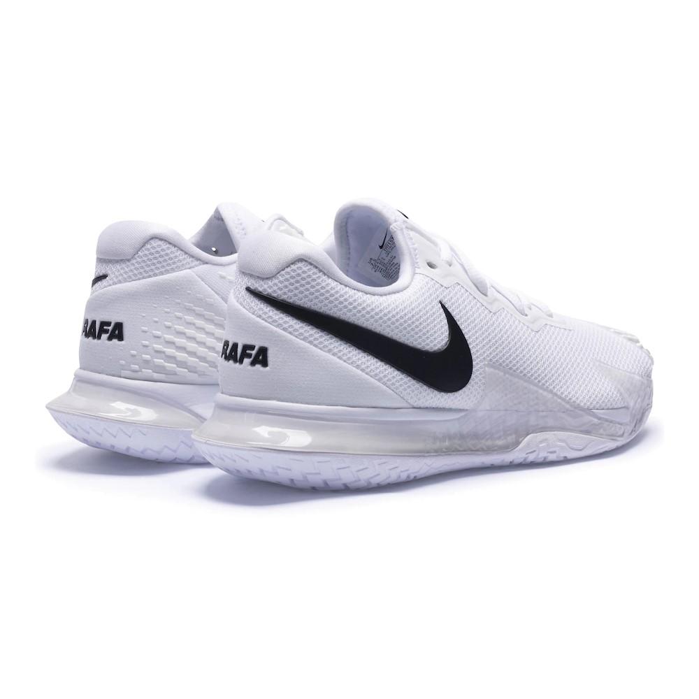Tênis Nike Air Zoom Vapor Cage 4 HC Branco e Preto - Masculino