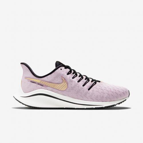 Tênis Nike Air Zoom Vomero 14 Roxo Claro e Dourado