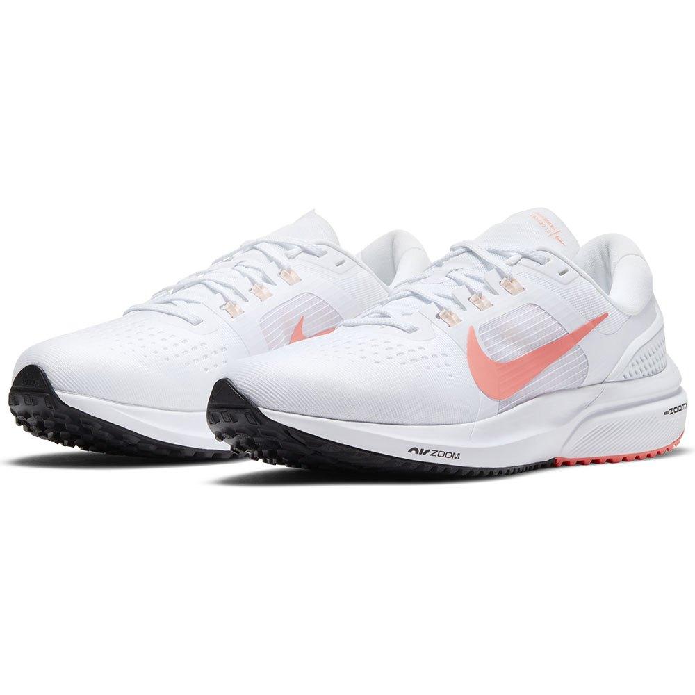 Tênis Nike Air Zoom Vomero 15 Branco e Salmão - Feminino