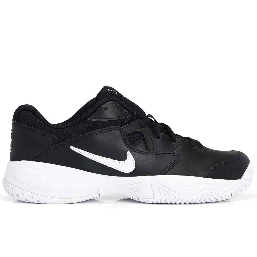 Tênis Nike Court Lite 2 Preto e Branco