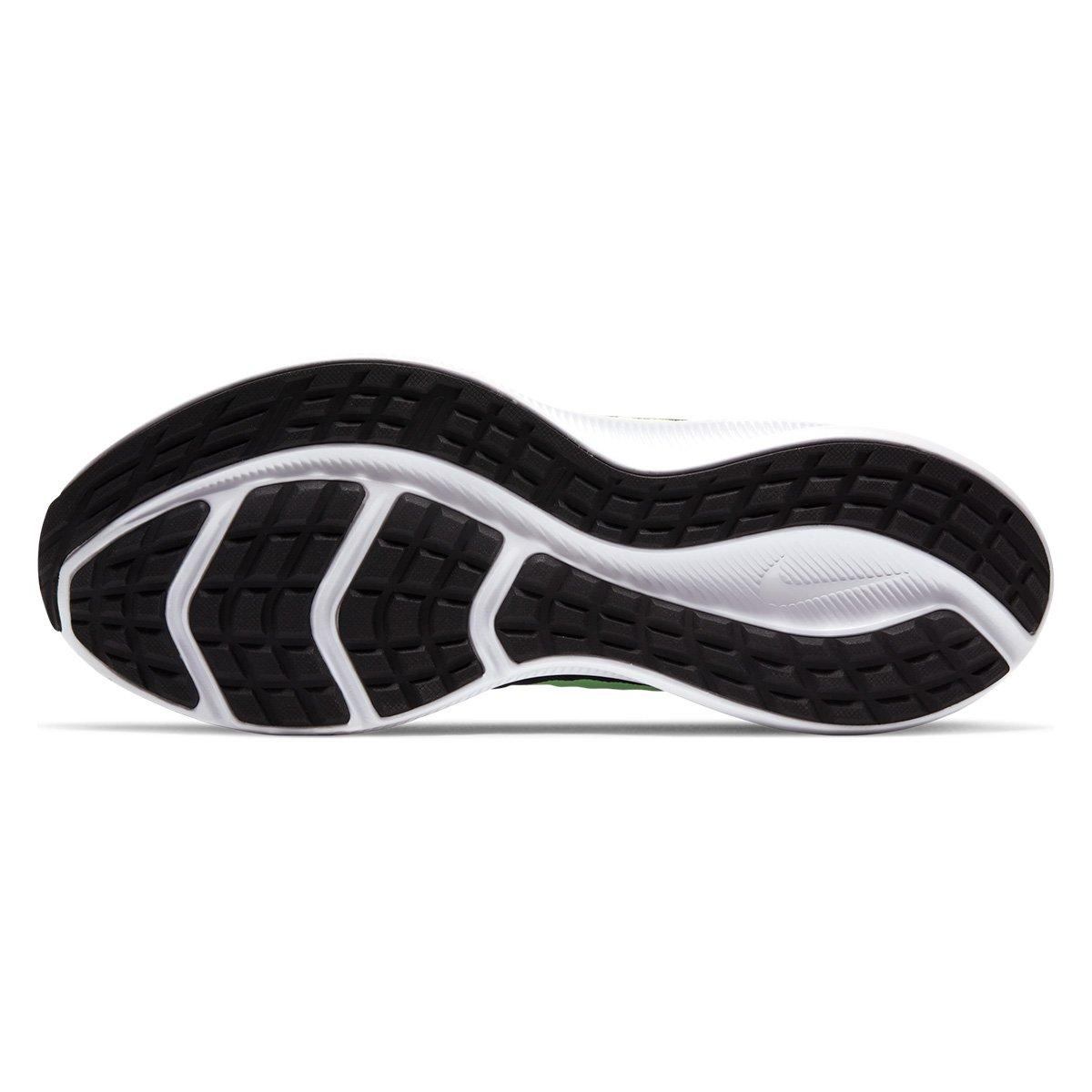 Tênis Nike Downshifter 10 Marinho e Verde Limão - Masculino