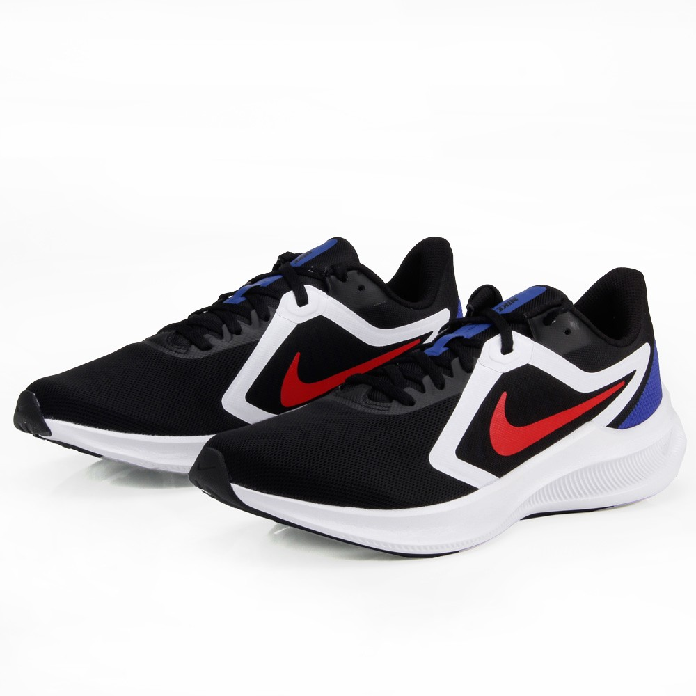 Tênis Nike Downshifter 10 Preto e Azul - Masculino