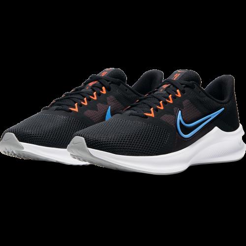 Tênis Nike Downshifter 11 Preto e Azul - Masculino