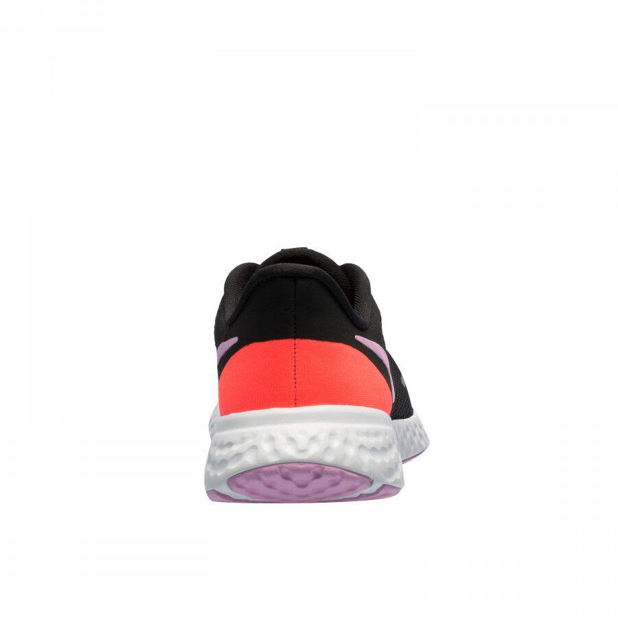 Tênis Nike Revolution 5 Preto e Pink - Feminino