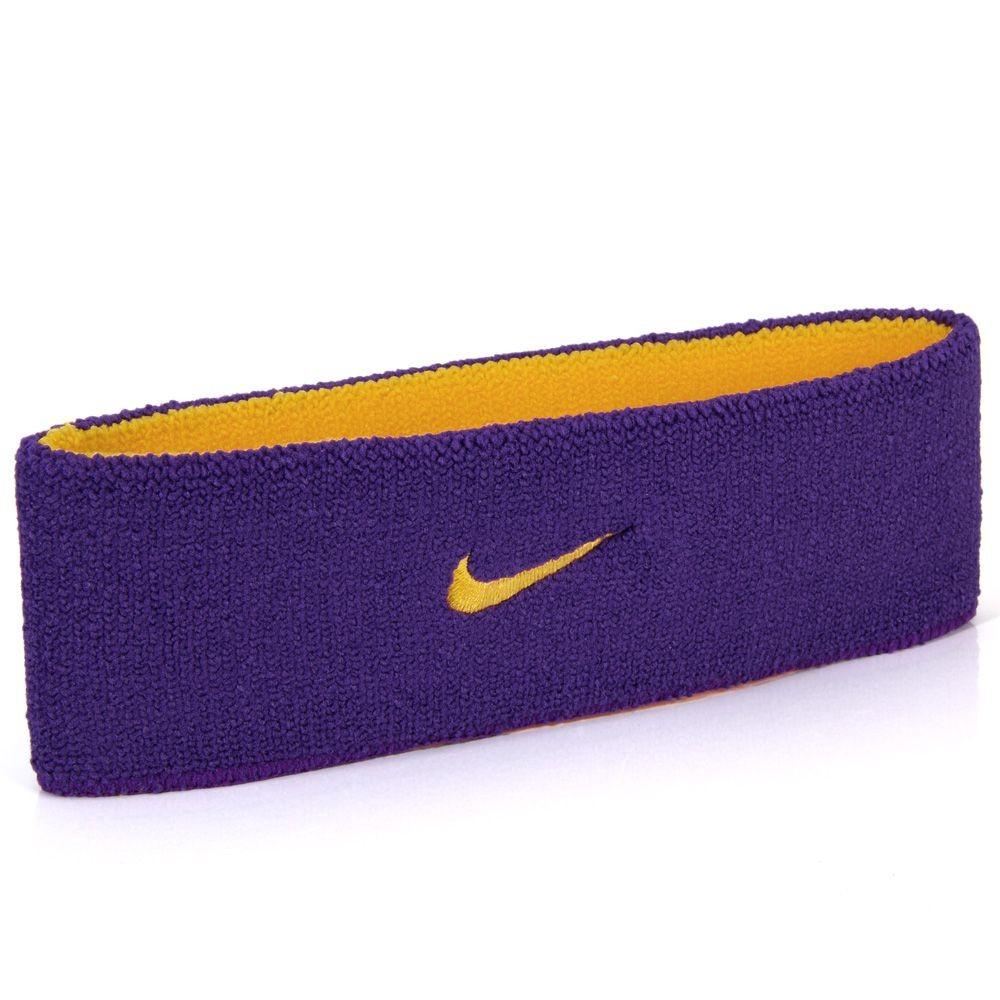 Testeira Nike Dri-Fit Home & Away Roxo e Dourado