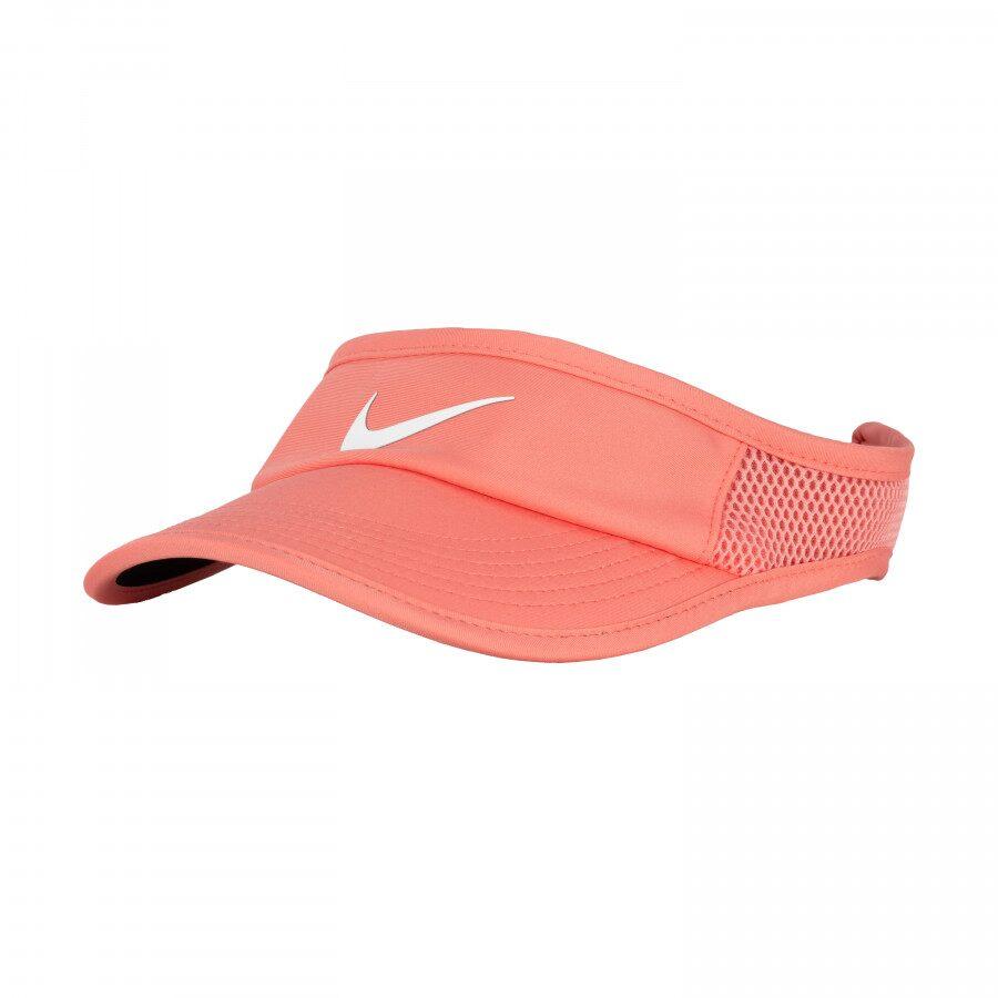 Viseira Nike Aerobill Featherlight Salmão