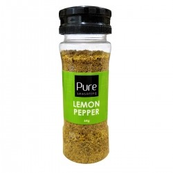 Lemon Pepper Pure Seasoning 64g Pocket