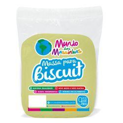 Massa De Biscuit Mundo Das Massinhas Amarelo Claro 900g