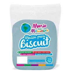 Massa De Biscuit Mundo Das Massinhas Azul Claro 900g