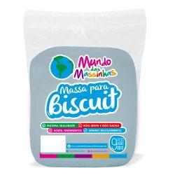 Massa De Biscuit Mundo Das Massinhas Azul Piscina 900g