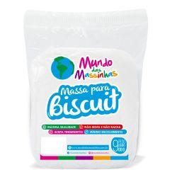 Massa De Biscuit Mundo Das Massinhas Branco 900g
