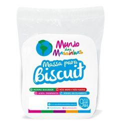 Massa De Biscuit Mundo Das Massinhas Branco Branquissimo 900g