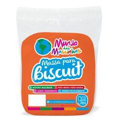 Massa De Biscuit Mundo Das Massinhas Cenoura 900g