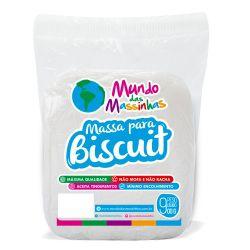 Massa de Biscuit Mundo das Massinhas Natural 900g