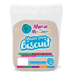 Massa De Biscuit Mundo Das Massinhas Soft Colors Laranja 900g