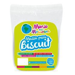 Massa para Biscuit Mundo das Massinhas Neon Amarelo 900g