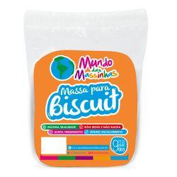 Massa para Biscuit Mundo das Massinhas Neon Laranja 900g
