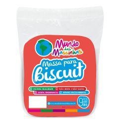 Massa para Biscuit Mundo das Massinhas Neon Vermelho 900g