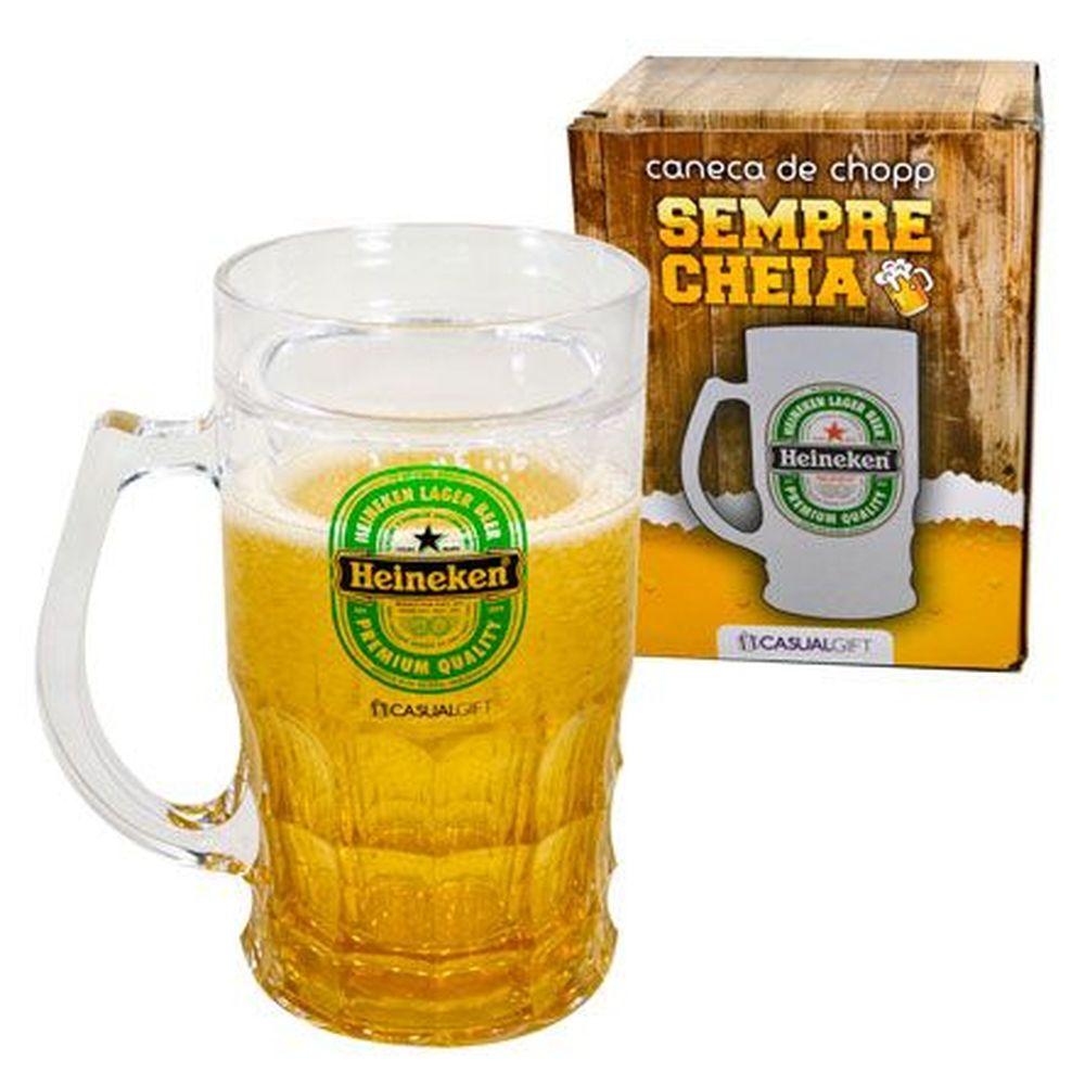Caneca com Gel Cerveja - Heineken - 400ml