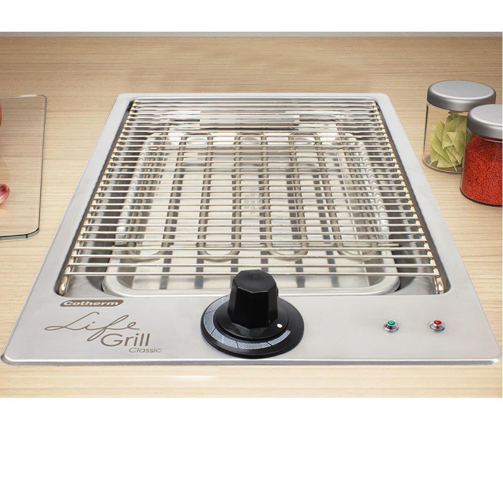 Churrasqueira Life Grill Classic de Embutir Elétrica 127V